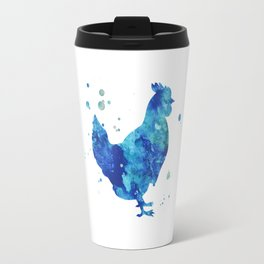 Blue Chicken Travel Mug