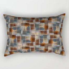 Mosaic Tiled Rectangular Pillow