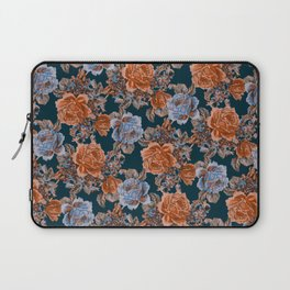 English Garden - Burnt Sienna/Navy Laptop Sleeve