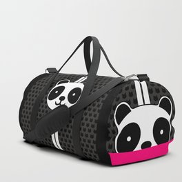Racing Panda Duffle Bag