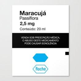 Kitchen Posters - Rivotril/Maracuja Canvas Print