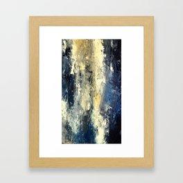 Choppy Ocean Framed Art Print