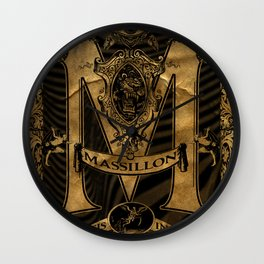 Mässillon Darkness Wall Clock