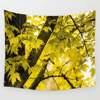 fall Wall Tapestries featuring Fall by Faded  Photos