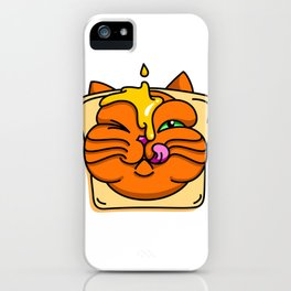 Honey&Toast Puss iPhone Case