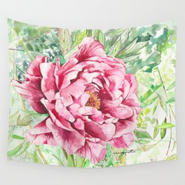 Peonie Wall Tapestry