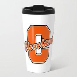 cleveland city Travel Mug