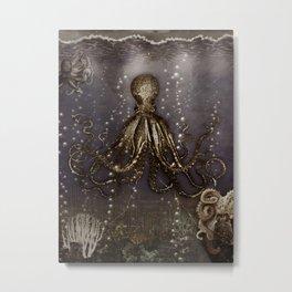 Octopus' lair - Old Photo Metal Print