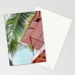 Life Under The Palm Tree Stationery Cards