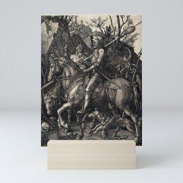 Albrecht Dürer Knight, Death and the Devil Mini Art Print