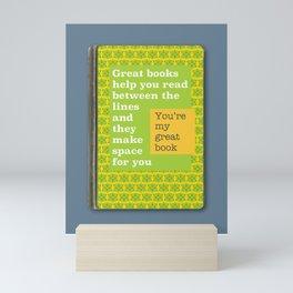 Great books like you Mini Art Print