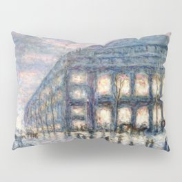 View of the Theâtre du Châtelet by Maximilian Luce Pillow Sham