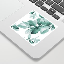 Ficus Leaves Dream #1 #green #decor #art #society6 Sticker
