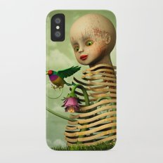 The Open Cage iPhone X Slim Case