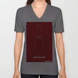 mignone: drinketenda Unisex V-Neck