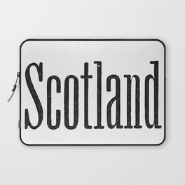Scotland Laptop Sleeve