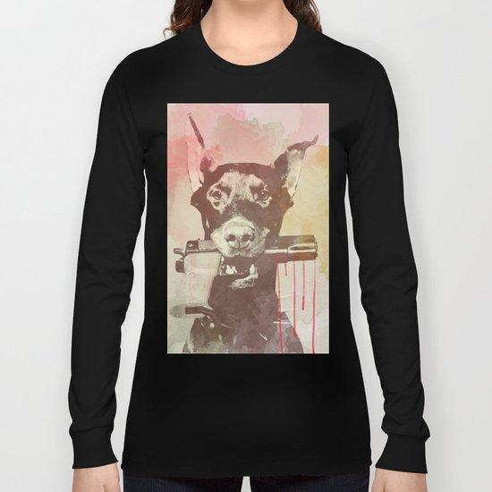 killer dog Long Sleeve T-shirt