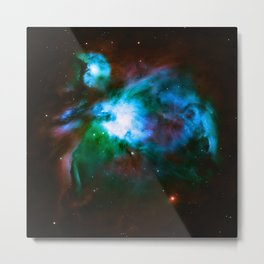 Deep Dark Orion NeBuLa : Hauntingly Beautiful Space Series Metal Print