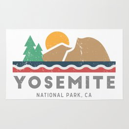 Yosemite National Park, California Graphic Rug