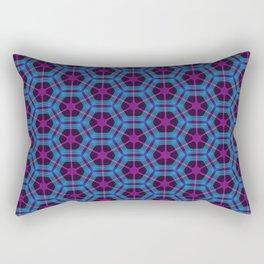 Neon Flux 01 Rectangular Pillow