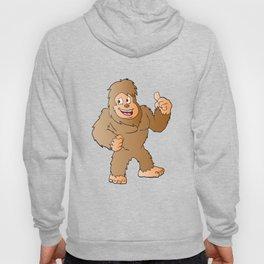 Bigfoot cartoon Hoody