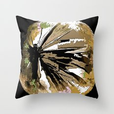 Butterfly Moonlight  Throw Pillow