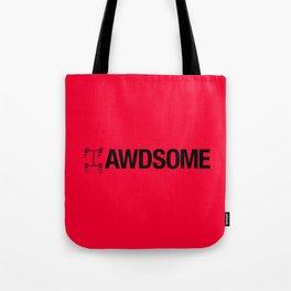 AWDSOME v4 HQvector Tote Bag