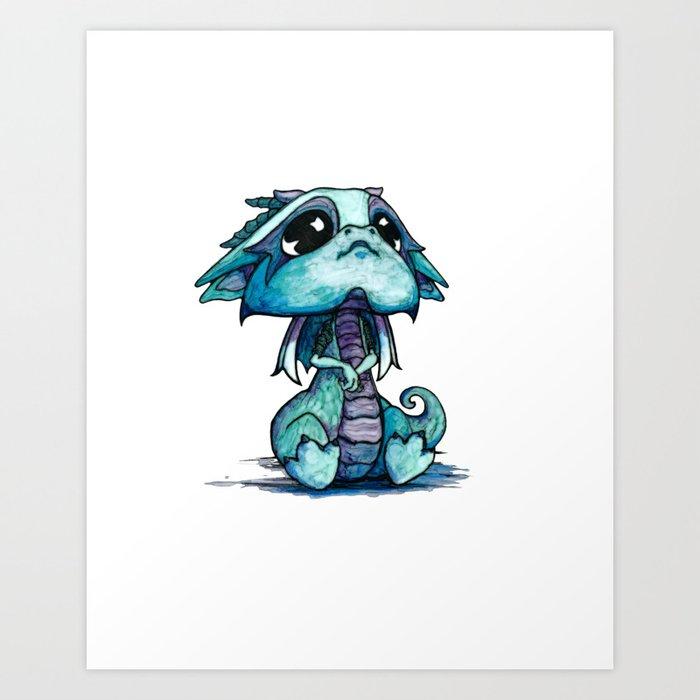 Baby Dragon Kunstdrucke