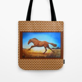 The Race Horse Tote Bag
