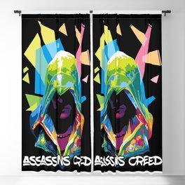 pop art assassins  Blackout Curtain