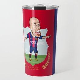 Mascherano - Barcelona v2 Travel Mug