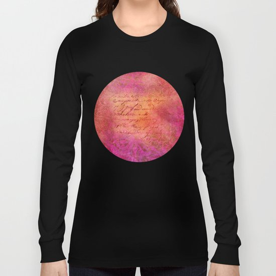 D-SIGN PINK Long Sleeve T-shirt