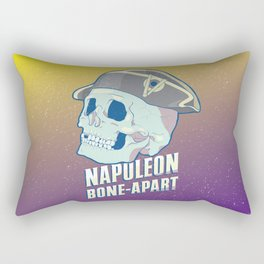Skullture: Napoleon Bone-Apart Rectangular Pillow