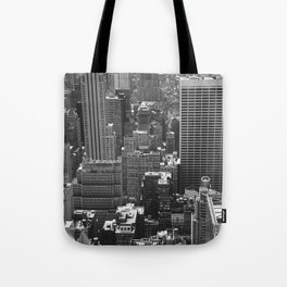 New York Buildings Tote Bag