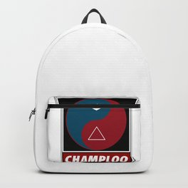 Yin Yang Samurai Balance Backpack