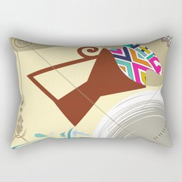 Aquarius Star Rectangular Pillow
