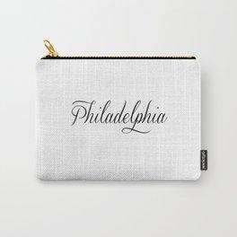 Philadelphia Script Carry-All Pouch