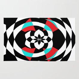 Stripe Me Spiral Rug