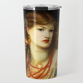 "Dante Gabriel Rossetti ""Monna Vanna"" Travel Mug"