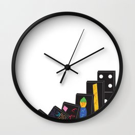 Threadless Live at Marwen: Student winner Isabel Trumbull Wall Clock