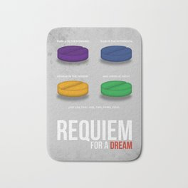 REQUIEM FOR A DREAM - MINIMAL Bath Mat