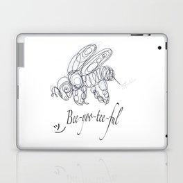 OLena Art Tee Design Bee-yoo-tee-ful Drawing Laptop & iPad Skin