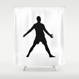 CR7 Gol Shower Curtain