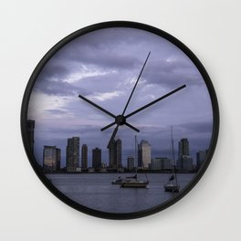 Nothing like New Jersey Skyline Wall Clock
