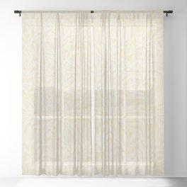 Larkspur by William Morris (1834-1896). Sheer Curtain