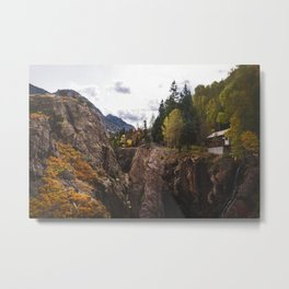Cottage of Ouray, Colorado Metal Print
