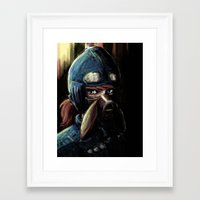 nausicaa Framed Art Prints featuring Nausicaa of the Valley of the Wind by Barrett Biggers