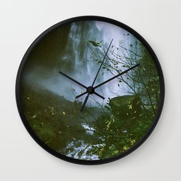 Waterfalls are neat, I'm very into nature Wall Clock
