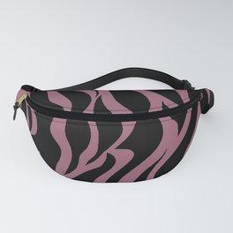 Bubble Gum Pink Stripes Fanny Pack