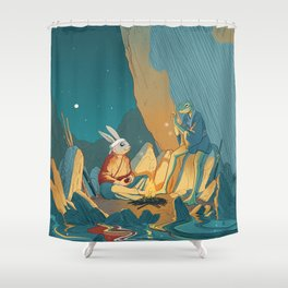 Master and student Shower Curtain